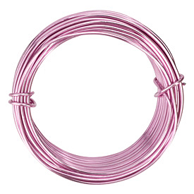 Artistic Wire Aluminum Rose 12 Gauge, 12 meters