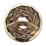 Saki Bronze Rose Toggle Clasp 42mm, Bar 35mm