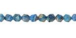 Larimar Blue Crazy Lace Agate Star Cut Round 6mm