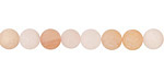 Rose Aventurine (matte) Round 6mm