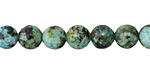 African Turquoise (A) Round 8mm