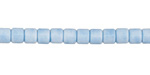 Denim Blue Agate Tube 4x3mm
