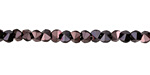 Oil Rubbed Bronze Crystal Double Sided Diamond Cut 4mm