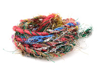 Fireworks Recycled 100% Silk Sari Yarn