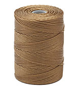 C-Lon Antique Brown Fine Weight (.4mm) Bead Cord