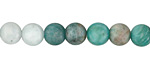 Russian Amazonite (matte multi) Round 8mm