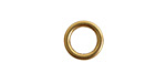 Nunn Design Antique Gold (plated) Open Frame Mini Hoop 12mm