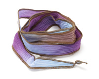 Forget-Me-Not Hand Dyed 100% Silk Ribbon 1/2""