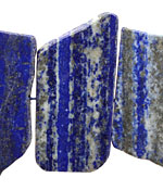 Lapis Side Drilled Flat Slab 15-28x27-50mm