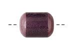 Tagua Nut Grape Bicolor Barrel 23-24x16-17mm