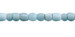 African Trade Beads (Java) Turquoise Glass 4-6x5-7mm