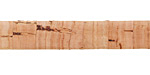 Natural Cork Cord Flat 10mm