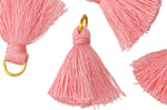 Bubblegum Pink w/ Jump Ring Thread Tassel 20mm