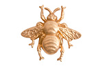 Nunn Design Brass Grande Bumblebee Embellishment 31x28mm