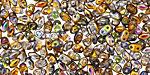 Magic Copper MiniDuo 2x4mm Seed Bead