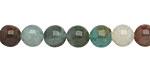 Blue Green Quartz Round 8mm