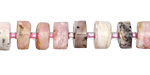 Pink Opal Wheel 3-8x8-9mm