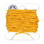 Bright Autumn Yellow Irish Waxed Linen 4 ply