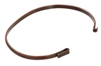 Antique Copper Link Bangle 6.5 inches
