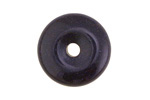 Blue Goldstone Donut 25mm