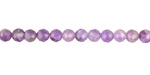 Dogtooth Amethyst (light) Faceted Round 4.5mm