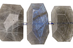 Labradorite Faceted Flat Slab 15-20x20-30mm