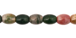 Fancy Jasper Rice 10x8mm