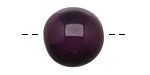 Tagua Nut Grape Round 20mm