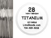 Parawire Titanium 28 Gauge, 15 Yards