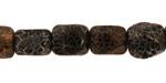 Black Spider Agate Tumbled Nugget 11-13x9-10mm