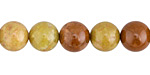 Australian Olive Green Opal Round 10mm