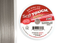 "Soft Touch Premium Clear .014"" (Fine) 21 Strand Wire 30ft."