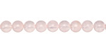 Madagascar Rose Quartz Round 6mm