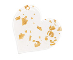 Zola Elements Gold Foil Acetate Heart Focal 35mm