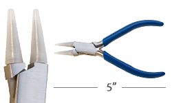 Round Nose Small Nylon Tipped Pliers