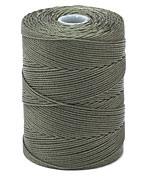 C-Lon Olive Fine Weight (.4mm) Bead Cord