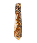 Picture Jasper Faceted Point Focal 8x48mm