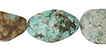 African Turquoise Tumbled Nugget 16-25x15-20mm