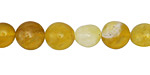 Yellow Opal Tumbled Nugget 8-10mm