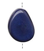 Tagua Nut Royal Flat Pebble 35-45x28-37mm