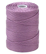 C-Lon Orchid Fine Weight (.4mm) Bead Cord