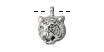 Zola Elements Antique Silver (plated) Tiger Charm 13x19mm