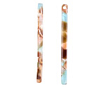Zola Elements Mermaid Acetate Stick Drop 3x39mm