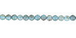 Apatite (B) Faceted Round 4mm