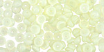 Milky Jonquil Teacup 2x4mm Seed Bead