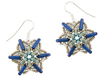 Winter Sky Earrings Pattern