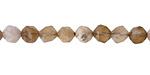 Dendritic Fossil Ocean Agate Star Cut Round 6mm
