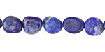 Lapis Pebble 9-13x8-10mm