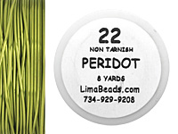 Parawire Peridot 22 Gauge, 8 Yards