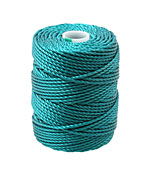 C-Lon Teal Tex 400 (1mm) Bead Cord